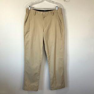 Lands' End Mens traditional fit khakis, sz 33x31